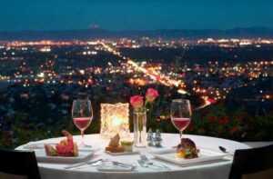 романтический вечер с девушкой